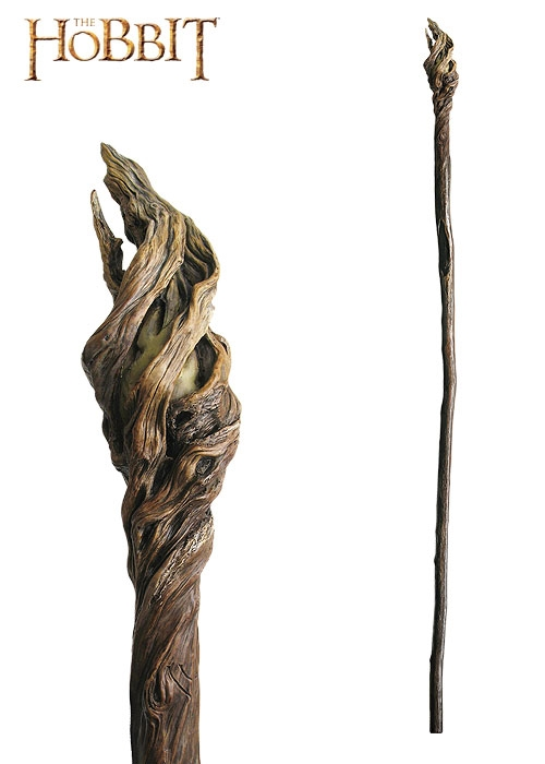 The Hobbit, Illuminated Staff of the Wizard Gandalf