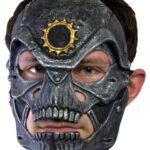 Metal Skull Trophy Mask