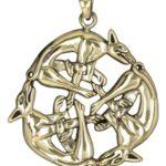 keltiska hundar halsband