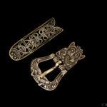 vikingatida spänne nr 16mässing