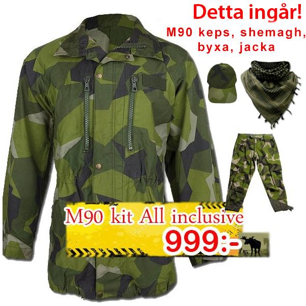 A M90 Byxa & M90 Jacka kit